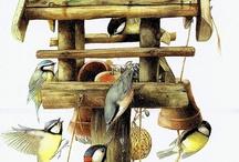 птички арт ( birds art )