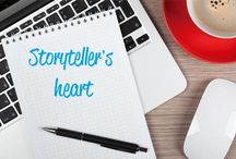Storyteller's Heart Blog / Hi everyone! Here you will find the posts of my blog!