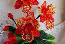 gyöngyök - virágok