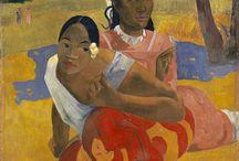 Paul Gauguin Gemälde / Paul Gauguin war ein französischer Maler. In der Öffentlichkeit ist er vor allem durch seine Bilder aus der Südsee bekannt. Gauguins postimpressionistisches Werk beeinflusste stark die Nabis und den Symbolismus; er war Mitbegründer des Synthetismus und wurde zu einem Wegbereiter des Expressionismus. Damit spielte er eine wichtige Rolle in der Entwicklung der europäischen Malerei. Sie können diese Werke auf WahooArt.com kaufen.