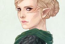 DRAGON AGE Character art ❤️❤️