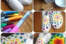 Teñido Tie-dye Con Sharpies