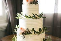 Inspire You {Cakes with fresh flowers} / Wedding cake ideas