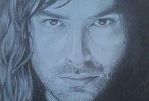 Drawings / Pencil drawings by me ;3