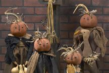 Primitives Pumpkin Dolls