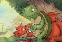 The Dragon and the Turtle; The DandT Go on Safari / Two pictures books written by Donita K. Paul and her daughter, Evangeline Denmark