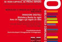 Biblioteca Comunale Bastia Umbra / Orario di apertura: Lunedì 15.30 - 18.30 Dal martedì al venerdì  10.00 - 13.00 /15.30 -18.30 Sabato 10.00 - 13.00 Viale Umbria, 5 INFO 0758005325 bastiaumbra@sistemamuseo.it www.sistemamuseo.it