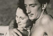 Salvador Dali / Salvador Dali and his muse Gala