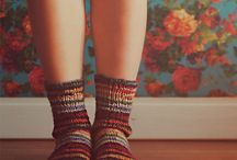 socks and clogs / sock inspiration clogs and cute shoes