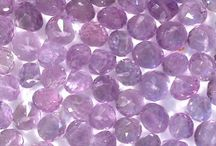 Gemstone Faceted Loose Beads and Gemstone Briolette beads