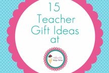 Teacher Gifts / Teacher gifts / by Tina Platter