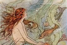 mermaids / by Anna Ball