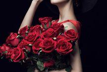 Woman and roses..-kobieta i röże