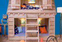 Jungs Schlafzimmer