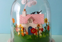 Bell Jars and Shadowboxes