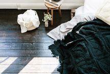 Bedroom |Home inspiration / cozy, warm bedroom idea