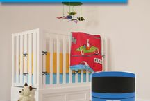 Une chambre de bébé saine / Idées pour concevoir une chambre d'enfant saine pour éviter les allergies et favoriser le sommeil très important pour ces organismes en développement.