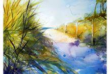 Landscape/ Watercolour