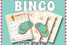 Educational Games for Kids / Just for fun classroom activities like bingo and Smartboard interactive games.