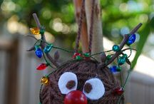 christmas crafts / by Francesca Comings