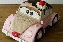 car cake 3d