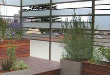 contemporary railings...