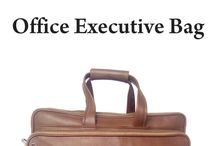 Tan color Italian leather office bag with laptop case / Fine quality Italian leather office bag with laptop case for who prefer quality. Rs. 7500.00 available at www.bagsmarket.in