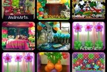 S & A  / Organización y decoración de fiestas.