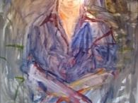 Nathan Oliveira Bay Area Artist / Looking at a stylistic descendent of Edward Munch