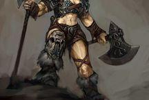 Barbarians - Human - Female
