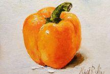 Légumes peinture