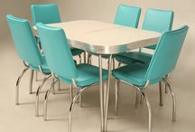 Look Who's Coming To Dinner! / Rediscover The Perfect Past! Retro/Vintage Dinette Sets...