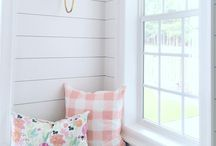 Nursery / A soft and comfortable space for our baby girl.
