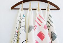 Hanger for dish cloths