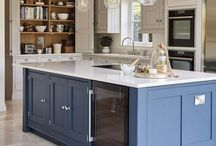 Luxury Kitchens - Tom Howley Blue Shaker