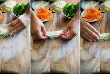 noodle spring rolls munt
