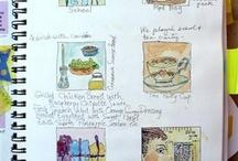 Art Journals/Sketchbooks/Supplies / by Nancy Standlee