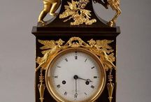 Empire, Directoire, Charles X Clocks / Empire, Directoire, Charles X Clocks, ormolu