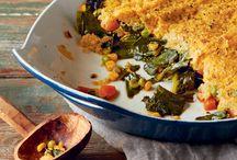 Seasonal Recipes / Delicious seasonal garden harvest vegetarian recipes.