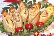 Zapekané chlebiky