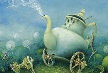 Victorian fantasy / paintings I love