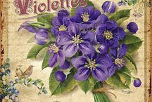 cartes fleurs / Flowers cards / cartes homemade