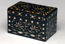 18th Century Toilette Boxes / Various types of 18th Century Toilette Boxes