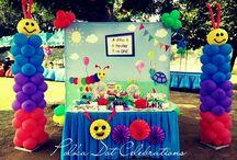 Baby Einstein / party styled by Polka Dot Celebrations WWW.polkadotcelebrations.com
