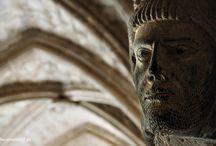 Monasterio de Veruela / Capiteles y ménsulas del monasterio de Veruela en la provincia de Zaragoza.