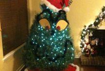 grinch xmas tree