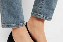 Small heels shoes