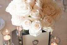 elegant wedding with roses