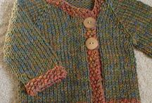 Knitting top down