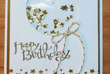 Balloon birthday cards